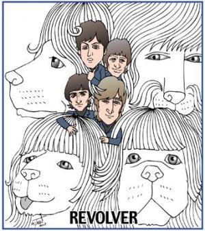 Beatles REVOLVER 戌年